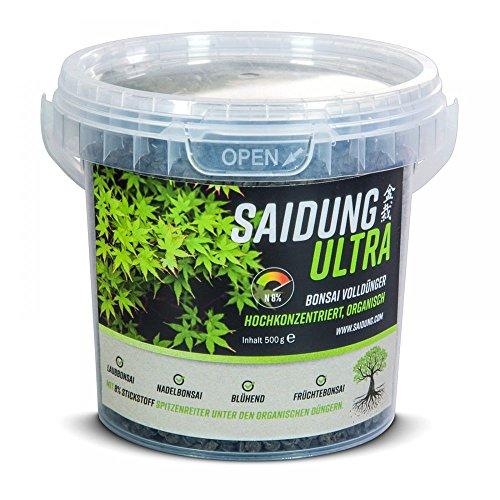 Saidung Ultra 500 gr. - Organischer Fester Bonsai-Dünger 63164