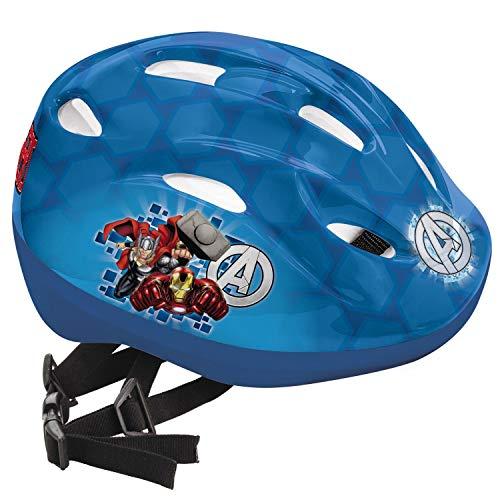 Mondo The Avengers Casco Bici, Colore Blu, 52-56, 18179