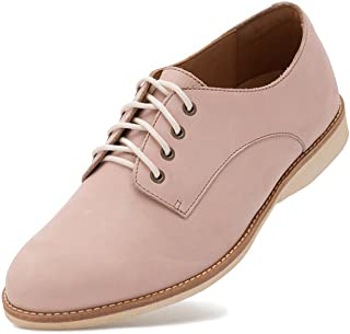 6b57dc97465c35 Rollie Women s Lightweight Derby Lace-up Flat Oxfords for Women Shoe  Lightest Weight Comfortable Premium