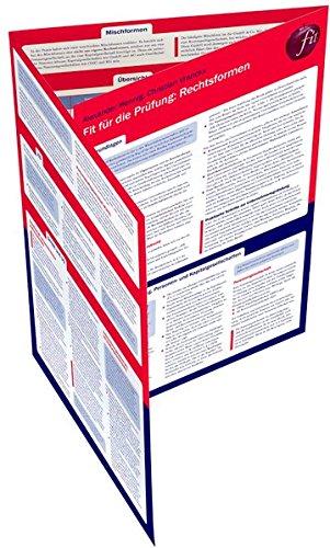Fit für die Prüfung: Rechtsformen und Gesellschaftsrecht: Lerntafel
