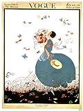 Vogue Vintage-Poster, Nachdruck Zeitschriften-Cover,