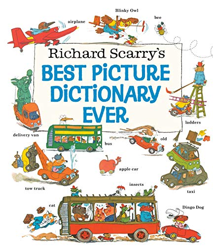 Richard Scarry's Best Picture Dictionary Ever (Giant Little Golden Book)