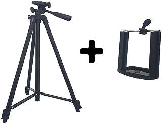 Tripé Universal Preto 150cm Para Câmeras Digitais E Celular