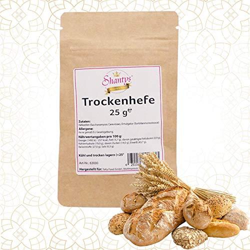 10 x 25 g Trockenhefe Spezial - 250 g - Shantys (Doypack, wieder verschliessbar)