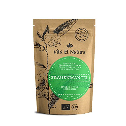 Vita Et Natura BIO Frauenmantelkraut - 60g loser Tee aus Blätter und Blüten der Frauenmantel (Alchemilla Vulgaris)