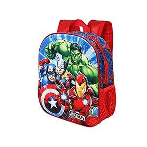 44x38 cm The Avengers Mochila Saco con Cuerdas Capitan America LOS Vengadores