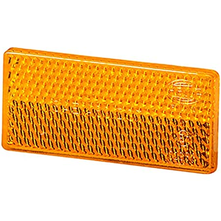 Hella 8ra 004 412 001 Rückstrahler Lichtscheibenfarbe Gelb Geklebt Auto