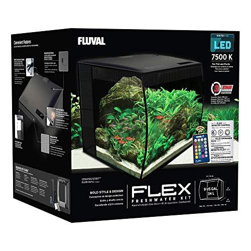 Fluval 15004 Flex Nano-Aquarium Set, 34 L - 4