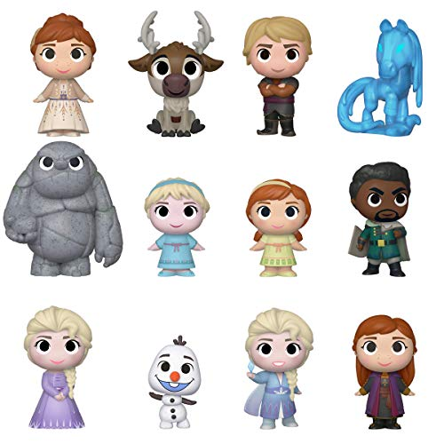 Funko Mystery Mini: Disney - Frozen 2, One Random Mystery Figure, Multicolor (40908)