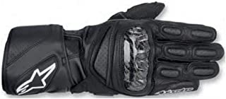 Alpinestars SP-2 Men's Leather Road Race Motorcycle Gloves - Black/Medium