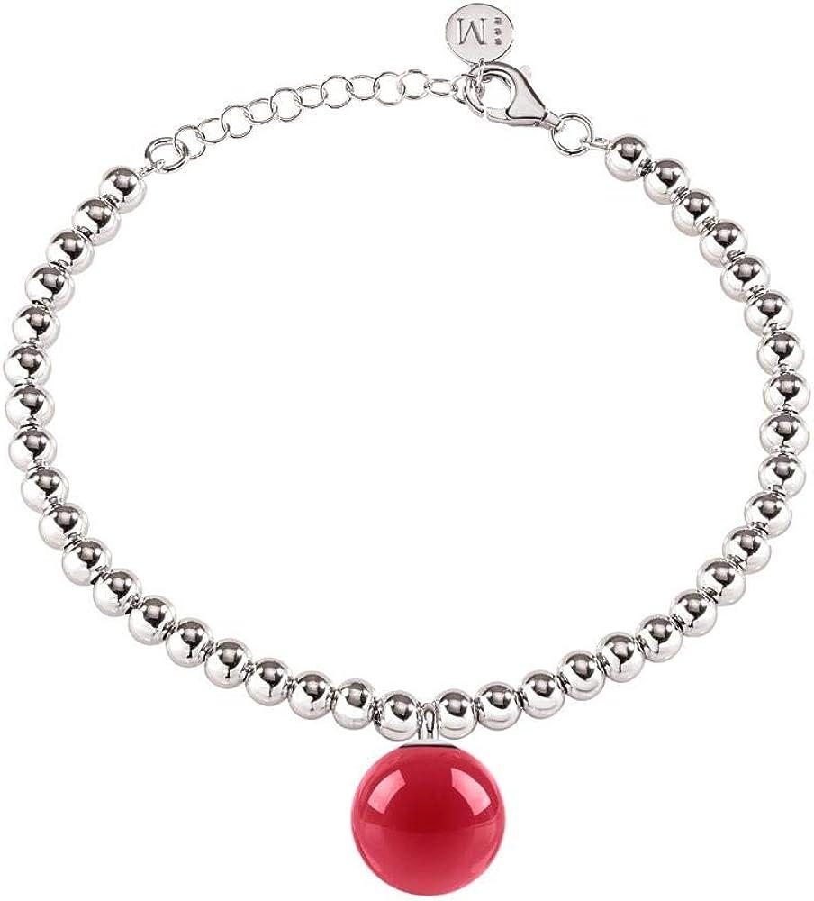 morellato bracciale con charm per donna in acciaio_inossidabile e pietra saly23