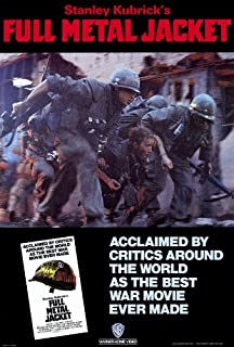 27 x 40 Full Metal Jacket Movie Poster