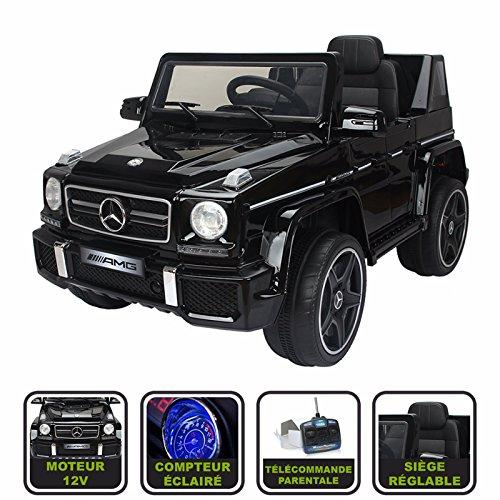 Cristom 4x4 électrique pour Enfant Mercedes AMG Licence Mercedes 12V - Noir