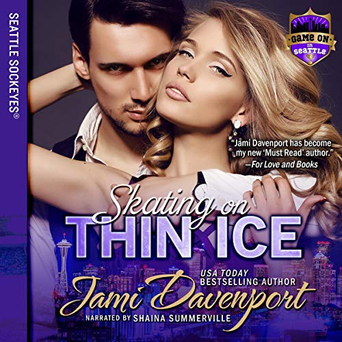Skating on Thin Ice audiobook cover art