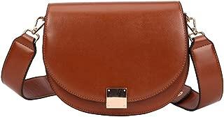 Vintage Crossbody Bags for Women Female Small Saddle Bag Leather Luxury Bag Designer Messenger Bag for Women Shoulder Bag