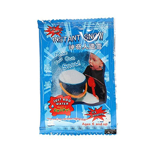 [ANYIKE]Instant Snow Fake Artificial Snow Magic Fluffy Fake Snow Great Decoration for Birthday Christmas Wedding-Looks and Feels Like Real Snow