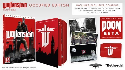 Wolfenstein : The New Order - Occupied Edition Xbox1- Xbox One