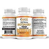 High Potency Biotin USP (D-Biotin) 100mg (100,000mcg) (3)