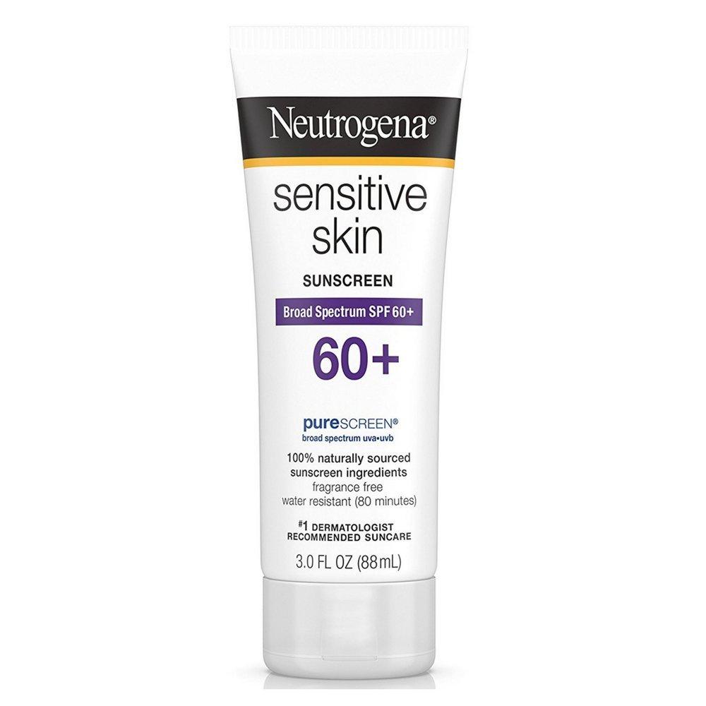 Neutrogena Sensitive Skin Sunscreen Lotion SPF oz 3 Limited price sale 60+ Pack Long Beach Mall of