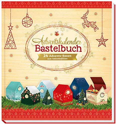Trötsch Bastelbuch mit Bastelbögen Adventskalender zum Selbstgestalten und Verschenken: Weihnachtskalender Bastelkalender