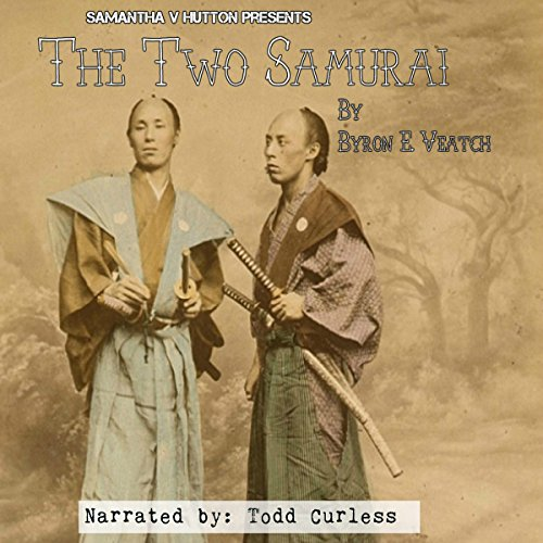 The Two Samurai audiobook cover art