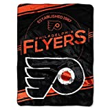 Northwest Philadelphia Flyers - Established in 1967 - Raschel Plush 60x80 inch Throw Blanket