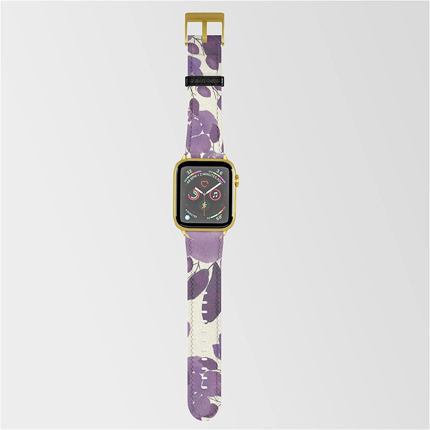 Elegant Ivory Gold Lavender Purple by Wat Pink Max 66% Popular shop is the lowest price challenge OFF Watercolor Floral