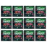 Corny Barritas Energy de Almendra y Chocolate con Leche, 12 estuches con 4 barritas 12x (4 x 25)