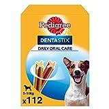 Pedigree Pack de 112 Dentastix de uso diario para la limpieza dental de perros pequeños