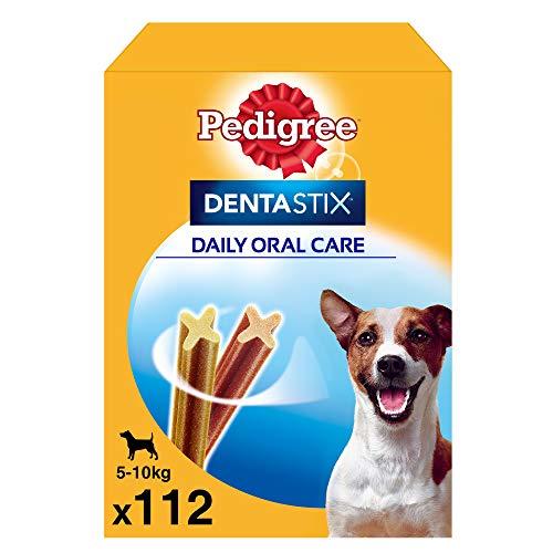 Pedigree Pack de Dentastix de uso Diario para la Limpieza Dental de Perros Pequeños (1 Pack de 112ud) ⭐