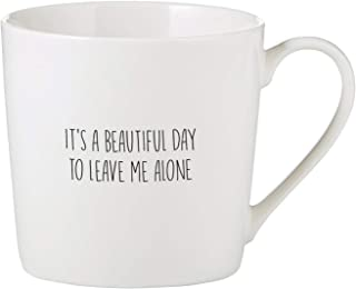 Santa Barbara Design Studio SIPS Drinkware Bone China Cafe Mug/Coffee Cup, 14-Ounce, Beautiful Day
