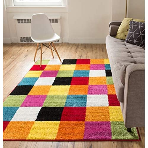 Colorful Area Rug: Amazon.com