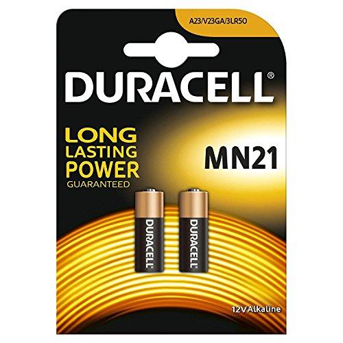 Duracell Alkalibatterien MN21A2323A LRV08, 12V, 2Batterien