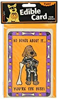 Crunchkins Crunch Edible Card, No Bones About It, You're the Best by Crunchkins