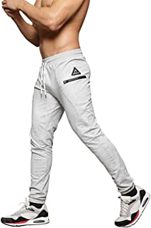 MAIKANONG Mens Slim Fit Joggers Tapered Sweatpants for...