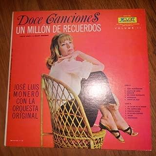 Doce Canciones Y Un Millon De Recuerdos Vol 2. Jose Luis Monero Y La Super Orquesta Original (Marvela - Vinyl)