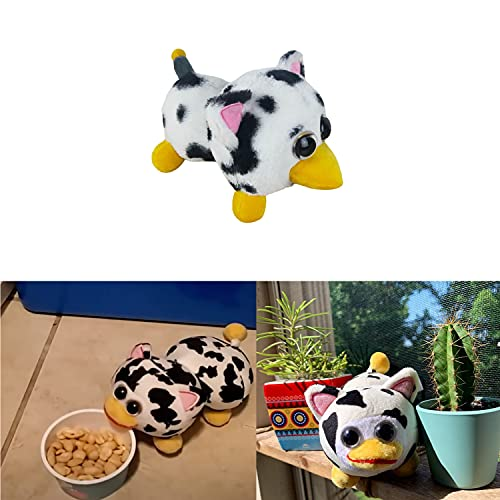 Peepy Plush, Peepy Cow Plush Toy, Cute Cartoon Spotted Cow Plush, Stuffed Animal Cute Doll, Gifts for Kids and Fans...