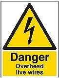 "Vsafety signos 68013bc-s""Danger overhead Live"