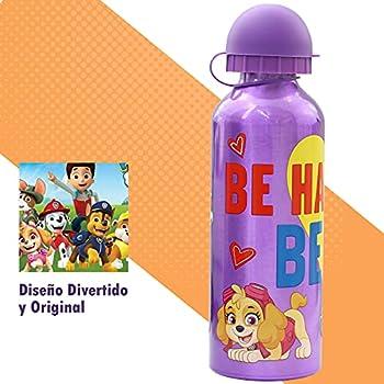 SKYLINE Bouteille d'eau pour enfants 500 ML, bouteille en aluminium pour filles, thermique, avec couvercle hermétique, sans BPA, à emporter à l'école, au parc, au sport, etc.