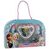 Disney Frozen- Caja Estuche de Regalo de cosmeticos, Color BLU (Jugavi FZ0013)