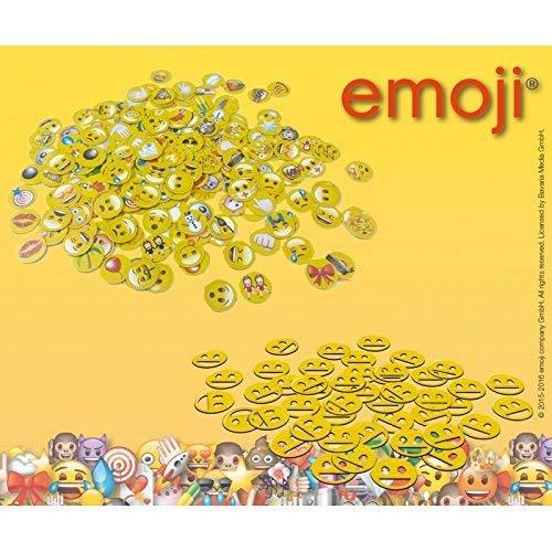 Lively Moments lustiges Emoji Konfetti 2 Beutel je 15g zum Kindergeburtstag / Partydeko
