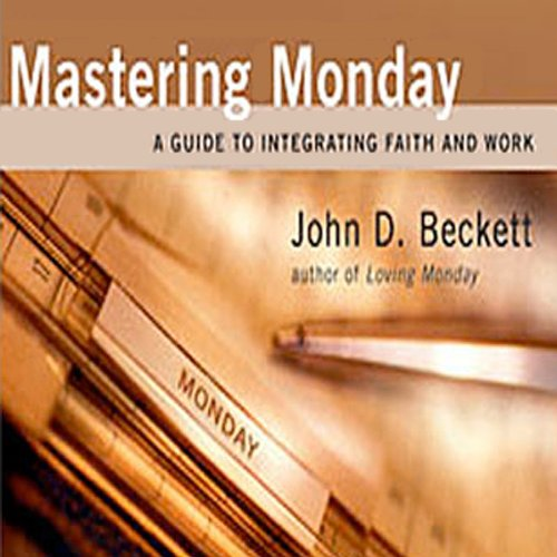 Mastering Monday audiobook cover art