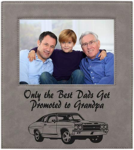 Best the dads get promoted to grandpa picture frame