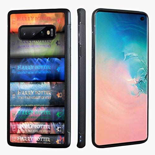 VONDER Samsung Galaxy S10 Case, Harry Potter Books Design Hybrid Silicone Bumper Phone Case Cover for Samsung Galaxy S10 Back