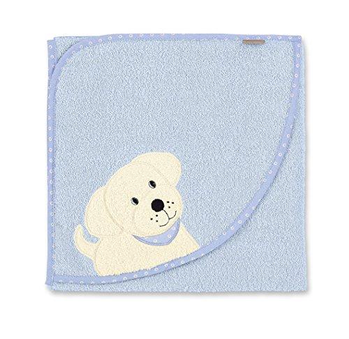 STERNTALER Cape de bain 100X100 HARDY le chien, Ciel
