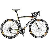 Sava Warwinds4.0 Bici da Strada Carbonio 700C Bicicletta da Strada in Fibra di...