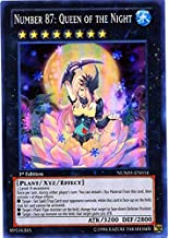 Yu-Gi-Oh! - Number 87: Queen of the Night (NUMH-EN034) - Number Hunters - 1st Edition - Super Rare