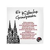 artboxONE Poster 20x20 cm Städte/Köln ET KÖLSCHE
