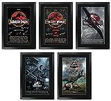 HWC Trading FR A3 Jurassic Park & World Collection x 5