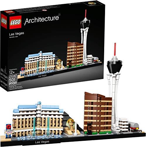 LEGO Architecture Skyline Collection Las Vegas Building Kit 21047 (487 Pieces)